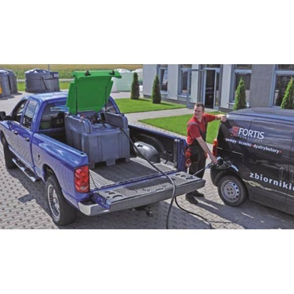 Mobilní nádrž na naftu Fortis 400  12/24 V   s měřičem