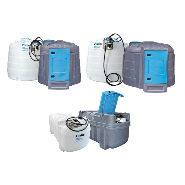jednoplášťová nádrž AdBlue 5000 litrů vybavená pro výdej