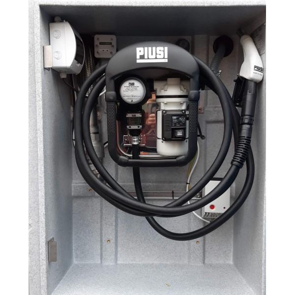 AdBlue nádrž 5000 litrů XBLUE, dvouplášťová , s výdejní technologií PIUSI