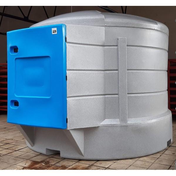 AdBlue nádrž 5000 litrů XBlue Fill , dvouplášťová, s výdejní technologií PIUSI a plnícím hrdlem ve výdejní skříni
