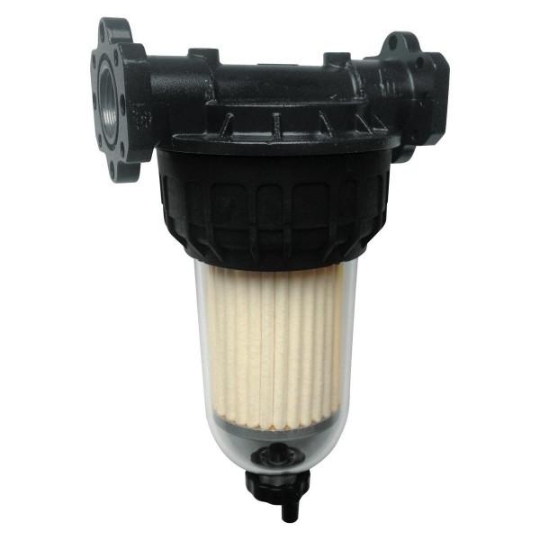Filtr na naftu průhledný se sorpcí vody 70 l/min