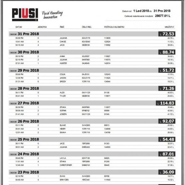 2018 PIUSI Self Service WEB
