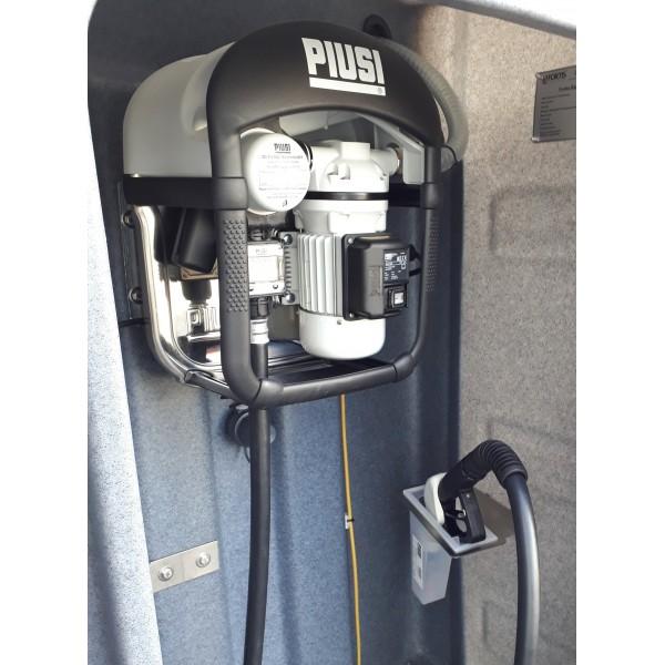 dvouplášťová nádrž AdBlue 3000 litrů vybavená pro výdej
